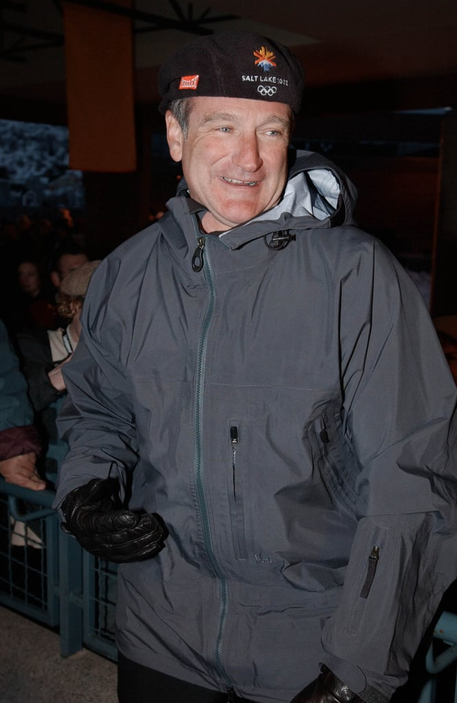 Exhibit F  Robin Williams in an Oversize Parka and a Kangol-Style ... 2ccbd61a00b