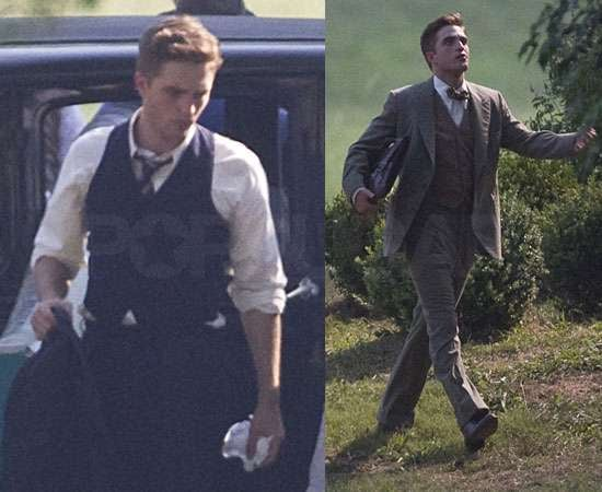 Pictures of Robert Pattinson Filming Water For Elephants in Georgia