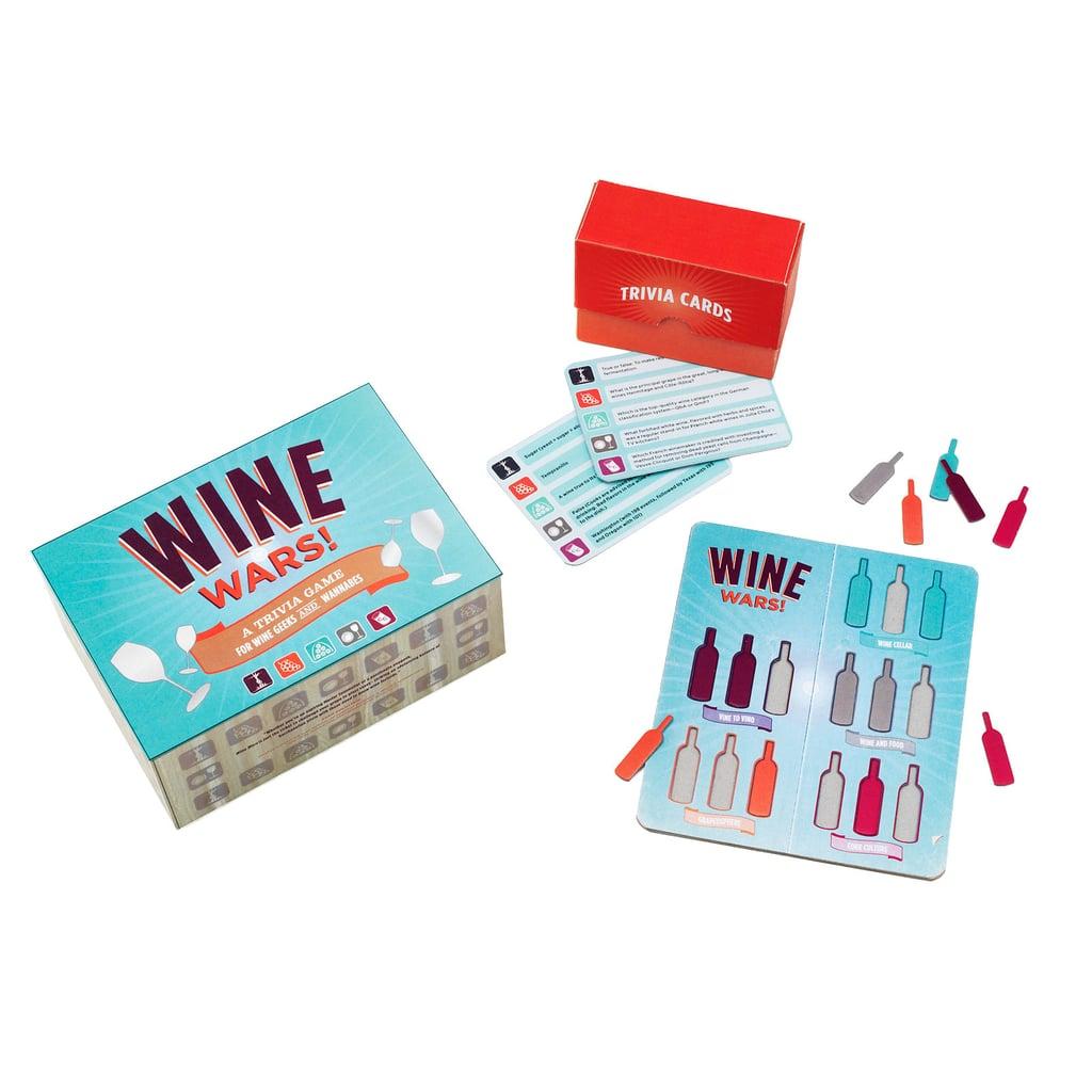 Chronicle Books Wine Wars Trivia Game