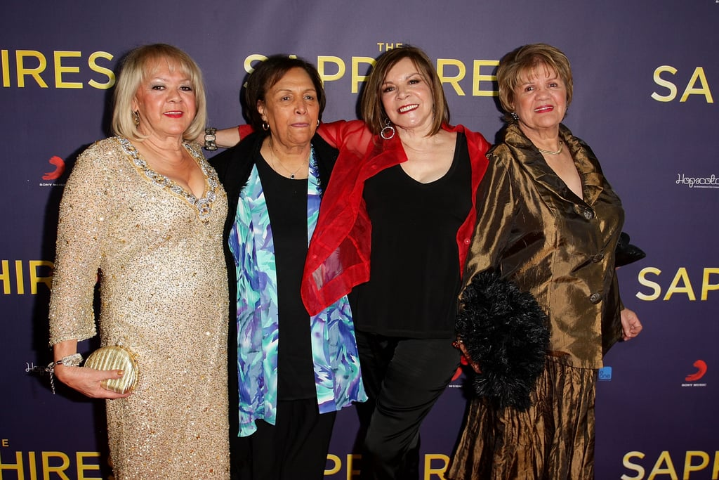 Laurel Robinson, Naomi Mayers, Lois Peeler and Beverly Briggs