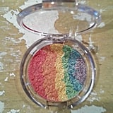 FaceCandyCouture Rainbow Highlighter multi-color Illuminating Pressed Powder ($18)