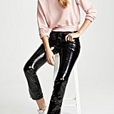 ei8htdreams Patent Slim Straight Pants