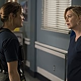 Andy faces off against Dr. Meredith Grey herself.