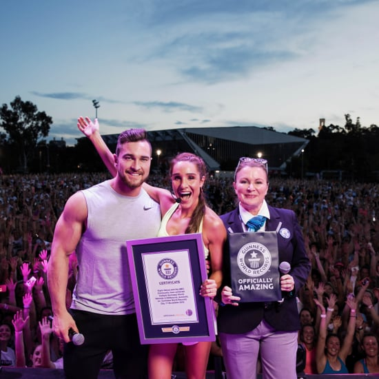 Kayla Itsines Breaks Guinness World Records | 2016