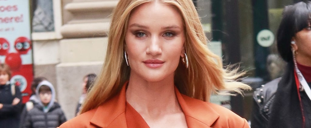 Rosie Huntington-Whiteley's Reverse French Nails