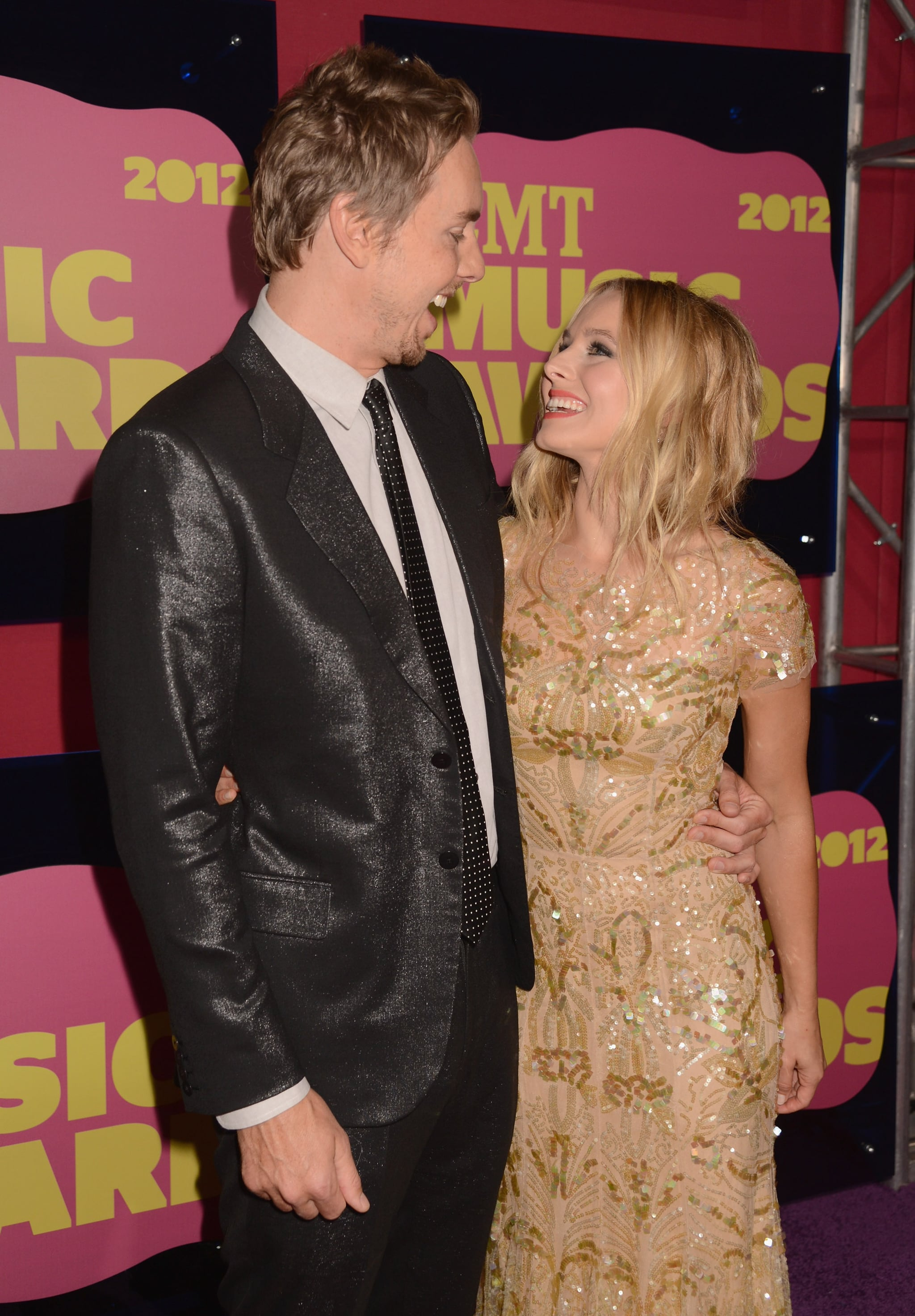 Dax and Kristen smiled big for the cameras at the 2012 CMT Music Awards in Nashville.