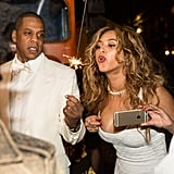 Beyoncé and Jay Z Celebrate During Solange's Wedding Weekend