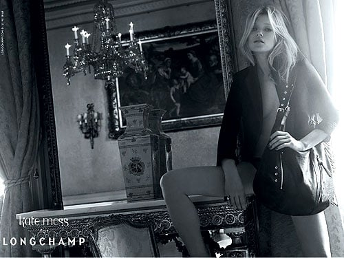 Kate Moss for Longchamp, Spring '10