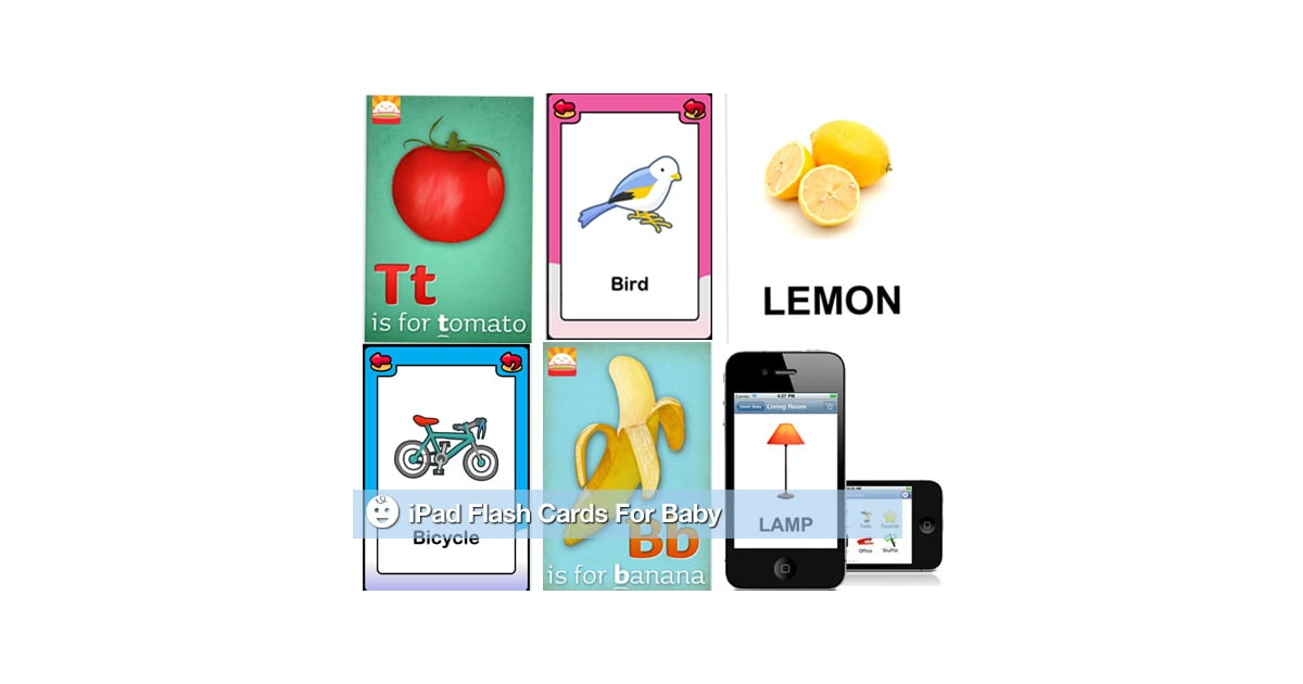 Baby Flash Cards For Your iPad | POPSUGAR Moms