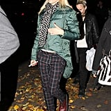 Gwen Stefani wore her Quay Eyewear Australia sunglasses at night.