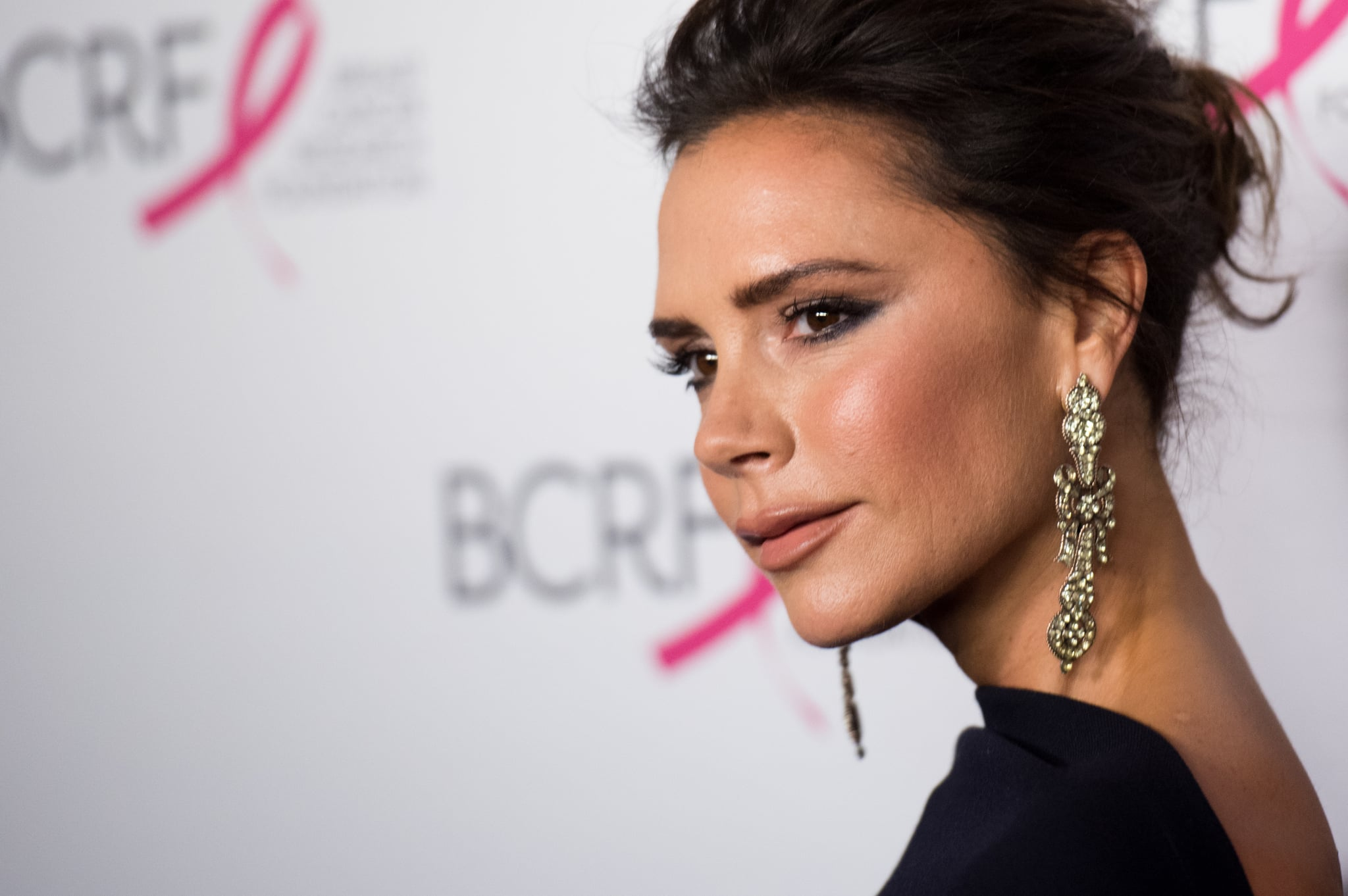 NEW YORK, NY - MAY 12:  Victoria Beckham attends the 2017 Breast Cancer Research Foundation Hot Pink Party at Park Avenue Armory on May 12, 2017 in New York City.  (Photo by Noam Galai/WireImage)