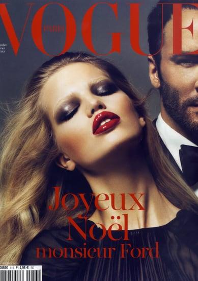 Tom Ford covers Vogue Paris-december 2010