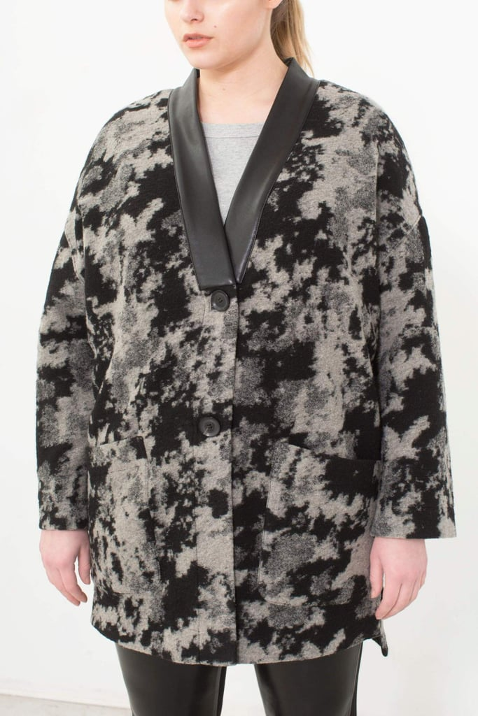 See Rose Go Kimono Cardigan in Abstract Camo