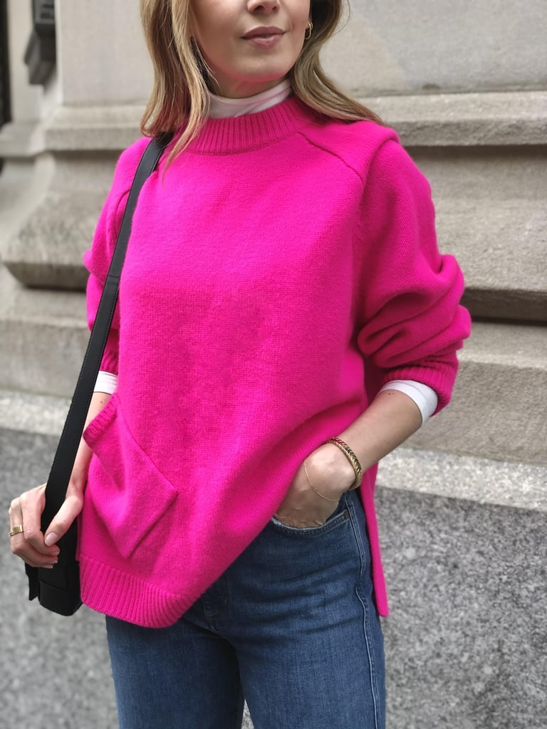 How to Layer a Turtleneck: Under a Sweater