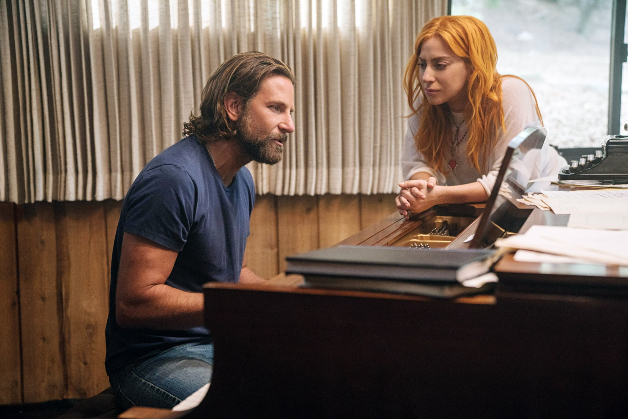 A STAR IS BORN, l-r: Bradley Cooper, Lady Gaga,  2018. ph: Clay Enos / Warner Bros./ Courtesy Everett Collection