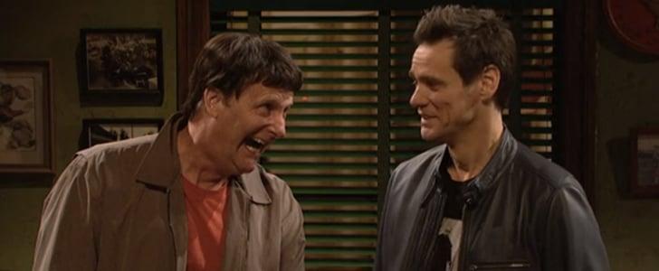 Jim Carrey and Jeff Daniels on Saturday Night Live