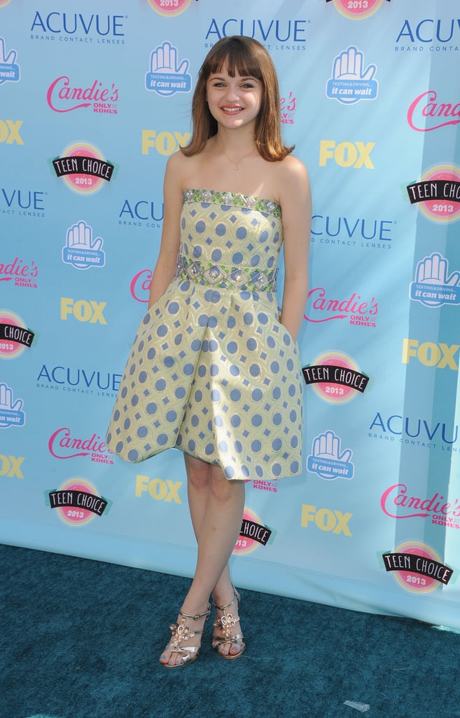Joey King attended the 2013 Teen Choice Awards.