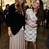 Megan Fox and Molly Sims hung out at the March of Dimes Celebration of Babies.