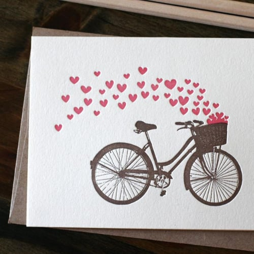 Valentine S Day Fitness Cards Running Yoga Bicycles