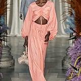 Puffy Sleeves on the Staud Runway at New York Fashion Week