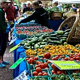 If you're in the city on Saturday, be sure to swing by the Portland Farmers Market. Housed on the main lawn within the Portland State University campus, this market has it all. Fresh fruit, vegetables, flowers, fish, meat, cheese, and wine — all being sold by local vendors with warm welcomes and smiling faces.