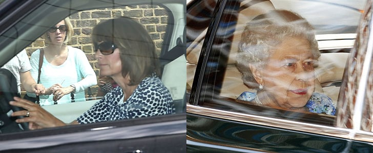 Royals And Middletons At Prince George's 1st Birthday Party