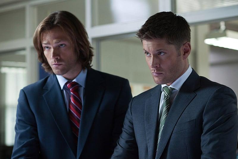 Sam And Dean Winchester (as FBI Agents) | Supernatural Halloween Costume Ideas | POPSUGAR ...