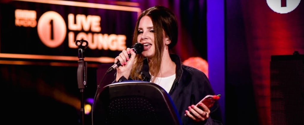 Watch Lana Del Rey Cover Ariana Grande On Bbc Radio One Popsugar Celebrity Australia