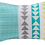 Kas Designs Cain Embroidered Accent Pillow ($40)