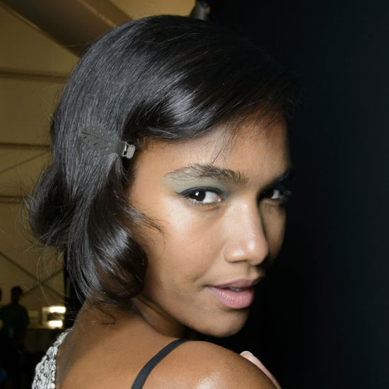 Badgley Mischka Spring 2014 Hair and Makeup | Runway Picture