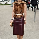 Add a Belt and Wear Your Furry Vest as a Top