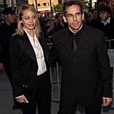 Christine Taylor and Ben Stiller in 2001