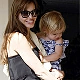 Pictures of Angelina Jolie, Knox and Vivienne