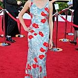 Shailene Woodley in Floral Appliqué L'Wren Scott at the 2012 Screen Actors Guild Awards