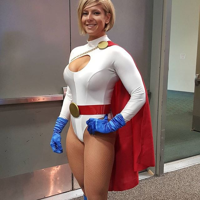 Girl xxx Power cosplayers