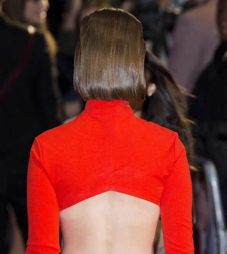 Lily From the Back
