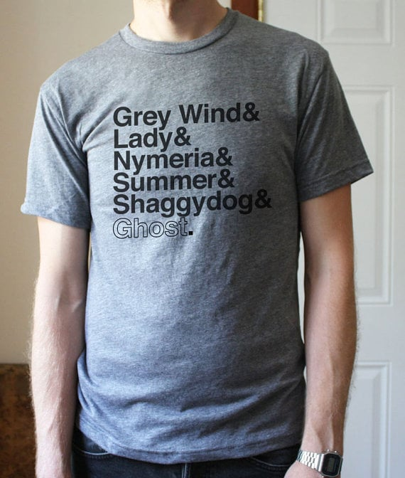 Handmade Game of Thrones Tee Shirts