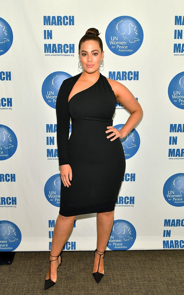 Ashley Graham's Bianca and Bridgett Black Dress