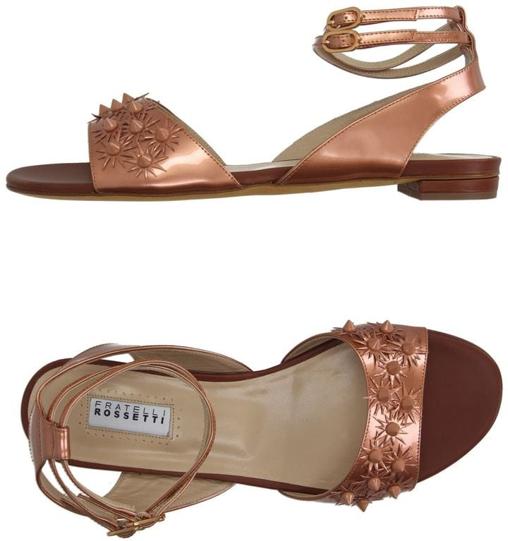 Fratelli Rossetti Sandals ($154, originally $386) are a subtle way to add floral to your outfit.
