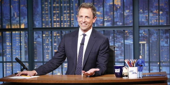 Seth Meyers Lifts Ban On Trump, But 'Late Night' Is 'Pretty Booked Up'