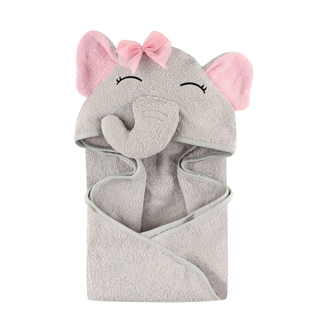 For 1-Year-Olds: Hudson Baby Animal Face Hooded Towel