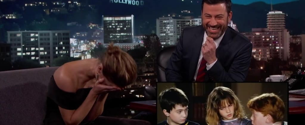 Emma Watson Gets Adorably Embarrassed While Watching a Harry Potter Outtake