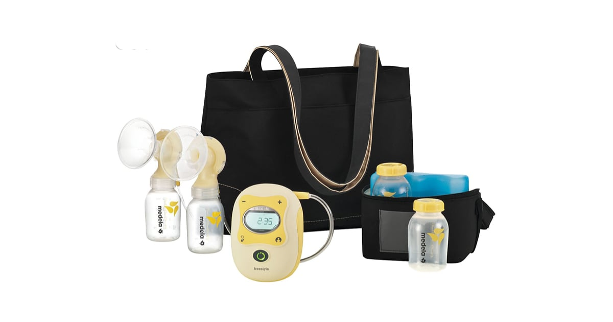 breast pump what to do with baby