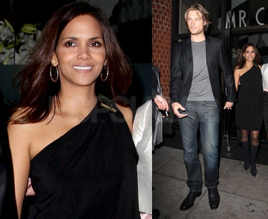 Halle and Gabriel Leaving Mr. Chow