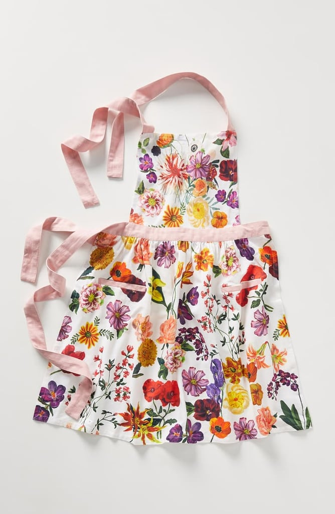 Anthropologie x Nathalie Lete Floral Cotton Apron