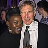 """Solo with #HanSolo. @starwars #theforceawakens London premiere latergram. Harrison Ford, OG!"""