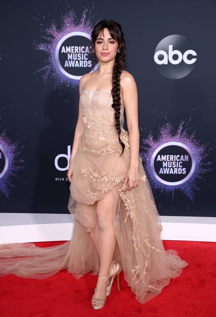 Camila Cabello S Tulle Dress At The American Music Awards