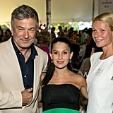 She was joined by Alec and Hilaria Baldwin at an Authors Night event at the East Hampton Library in August 2013.