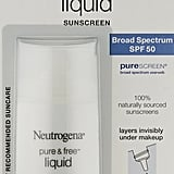 Neutrogena Ultra Sheer Liquid Daily Sunscreen Broad Spectrum SPF 70 ($11)