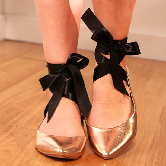 Add Ribbon to Your Ballet Flats (Video)